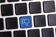 Social Media Key stock photo