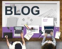 Social Media-Kommunikations-Vernetzungs-Konzept Stockfoto