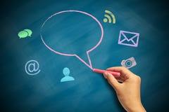 Social Media-Konzept 2 Lizenzfreies Stockfoto