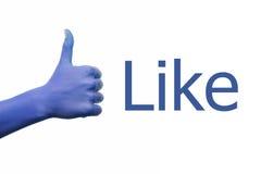 Social media, like Royalty Free Stock Photos
