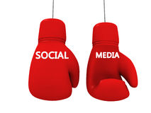 Social media like game Stock Image