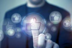 Social Media mag Lizenzfreie Stockbilder