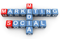 Social media marketing Royalty Free Stock Image