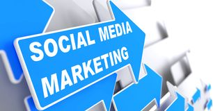Social Media Marketing. Business Concept. Royalty Free Stock Photo