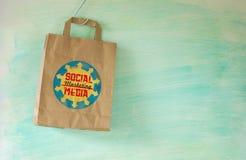 Social media marketing concept Stock Photos