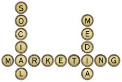 Social media marketing Stock Photo