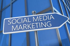 Social Media Marketing Stock Image