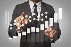 Social media and Marketing virtual icons Digital marketing media in virtual screen. vector illustration