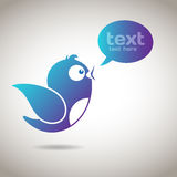 Social Media Message Royalty Free Stock Image