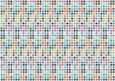 Social Media-Muster-Hintergrund Lizenzfreies Stockbild