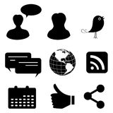 Social media and network Stock Image