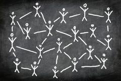 Social media network stock illustration