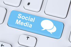 Social media or network internet networking online friendship Royalty Free Stock Photo