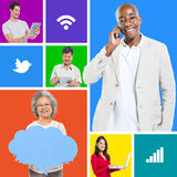 Social Media Networking royalty free stock photography