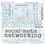 Social media networking Royalty Free Stock Image
