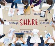 Social Media Online Connection Concept Royalty Free Stock Photos