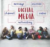 Social Media Online Connection Concept Royalty Free Stock Image