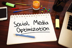 Social Media-Optimierung Stockfotos