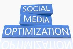 Social Media Optimization Royalty Free Stock Photos