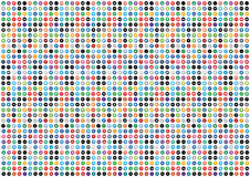 Social Media Pattern Background Royalty Free Stock Image