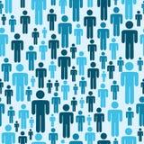 Social media people pattern Royalty Free Stock Image