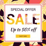 Promotional Sale Banner Royalty Free Stock Images