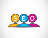 Social media seo concept Stock Photography