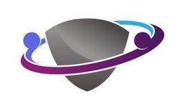 Social Media Shield Royalty Free Stock Image