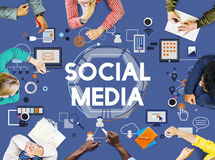 Social Media Social Networking Technology Innovation Concept Stock Photos