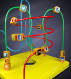 Social Media-Spielzeug Stockfoto