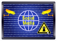 Social Media Spy Royalty Free Stock Images