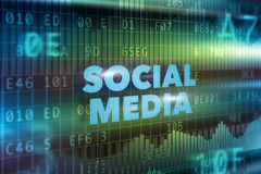 Social media technology concept Royalty Free Stock Photos