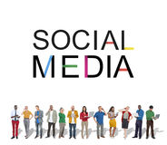 Social Media Technology Global Communication Concept Royalty Free Stock Image