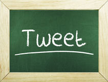 Social Media Tweet Royalty Free Stock Photos