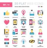 Social Media und Netz Lizenzfreie Stockbilder