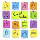 Social Media Via Wireless Technology Royalty Free Stock Image