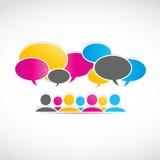 Social media, viral marketing Royalty Free Stock Image