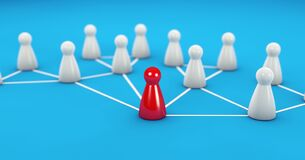 Free Social Media Web Network Digital Teamwork Leadership Stock Photo - 185397160