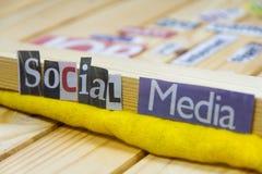 Social media Royalty Free Stock Photography