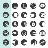 Social medial icons Royalty Free Stock Photography