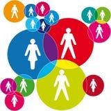 Social net Stock Image