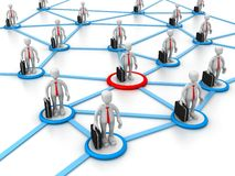 Social net work. This image represents social net work in his business or career. This can be used in business,educational, charitable or design purposes Royalty Free Stock Photography