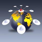 Social network (02) Royalty Free Stock Image