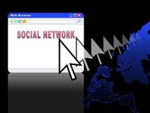 Social Network (03) Stock Photo