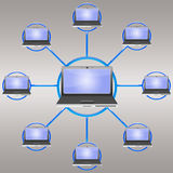 Social Network (04) Royalty Free Stock Image