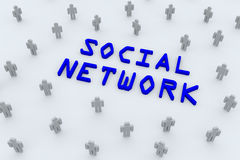 Social network Royalty Free Stock Photos