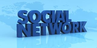 Social network Royalty Free Stock Image