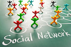 Social network Stock Images