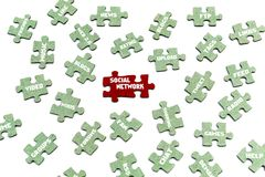 social network, Royalty Free Stock Images