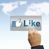 Social network Royalty Free Stock Image